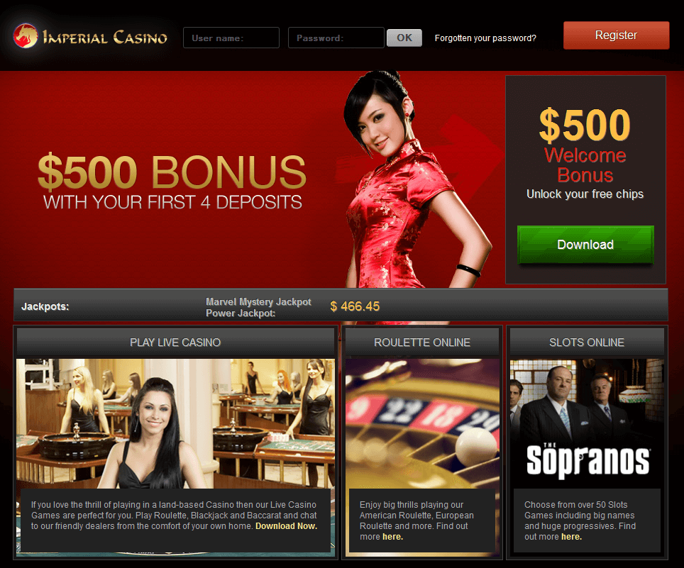 All Imperial casino promo code