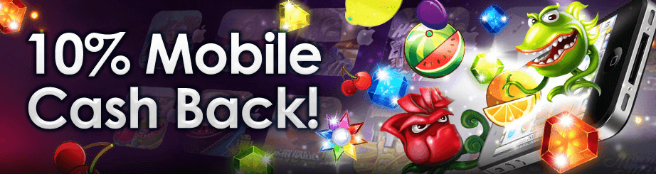 CasinoEuro mobile cashback