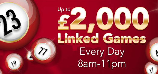 Linked Games Caesaras Bingo Code