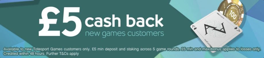 Totesport games welcome offer