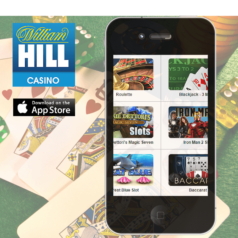 William Hill App available for Iphone on the app store