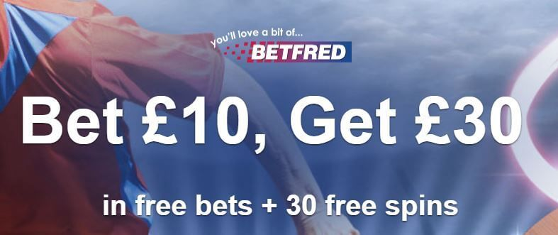 Betfred Sportsbook Welcome Offer