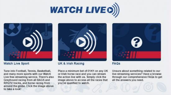 Guide Betfred Live Streaming