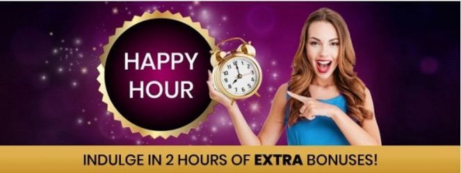 888 Bingo Happy hour bonus