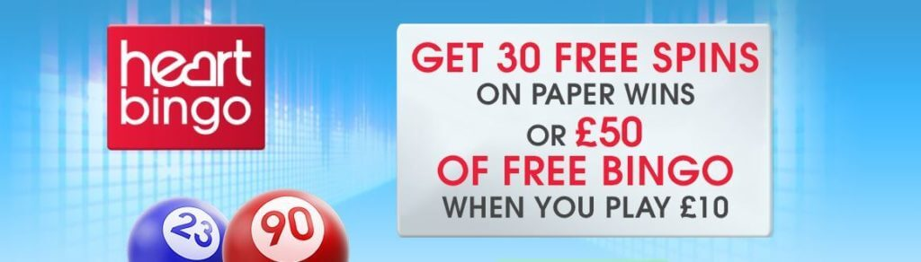 How to claim the Heart Bingo Promo Code and Offer