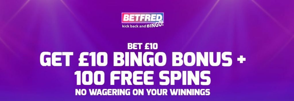 How to claim the Betfrd Bingo Offer
